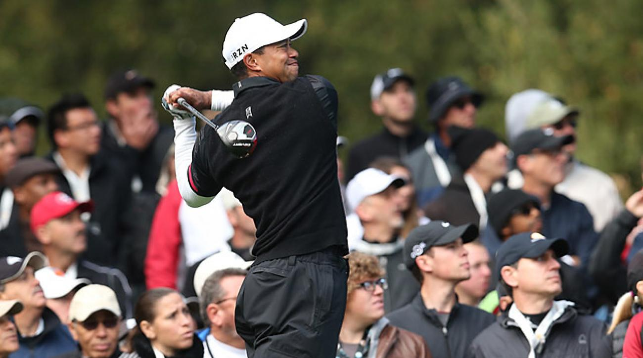 Tiger Woods is trying to finish the season with six wins for the ninth time in his career.