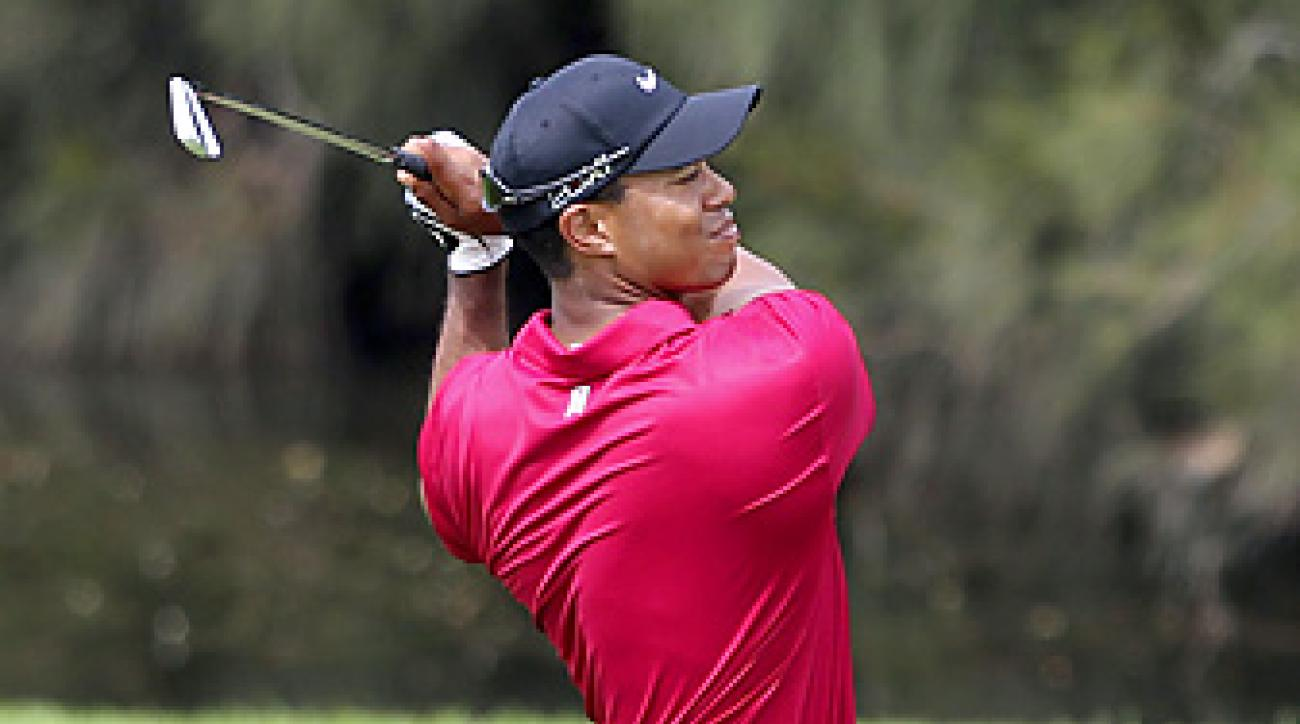 Tiger Woods shot a 67 on Sunday and finished third at the Australian Open.