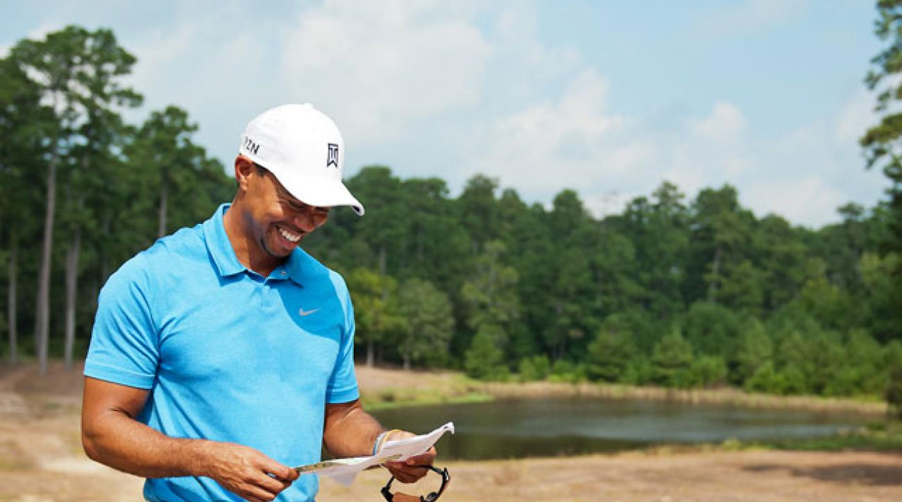 Tiger Woods' Bluejack National is his first domestic course design.