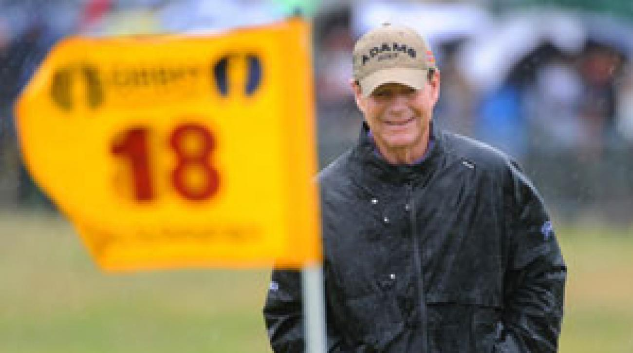 Tom Watson, 61, had another good showing at the British Open, finishing in a tie for 22nd.