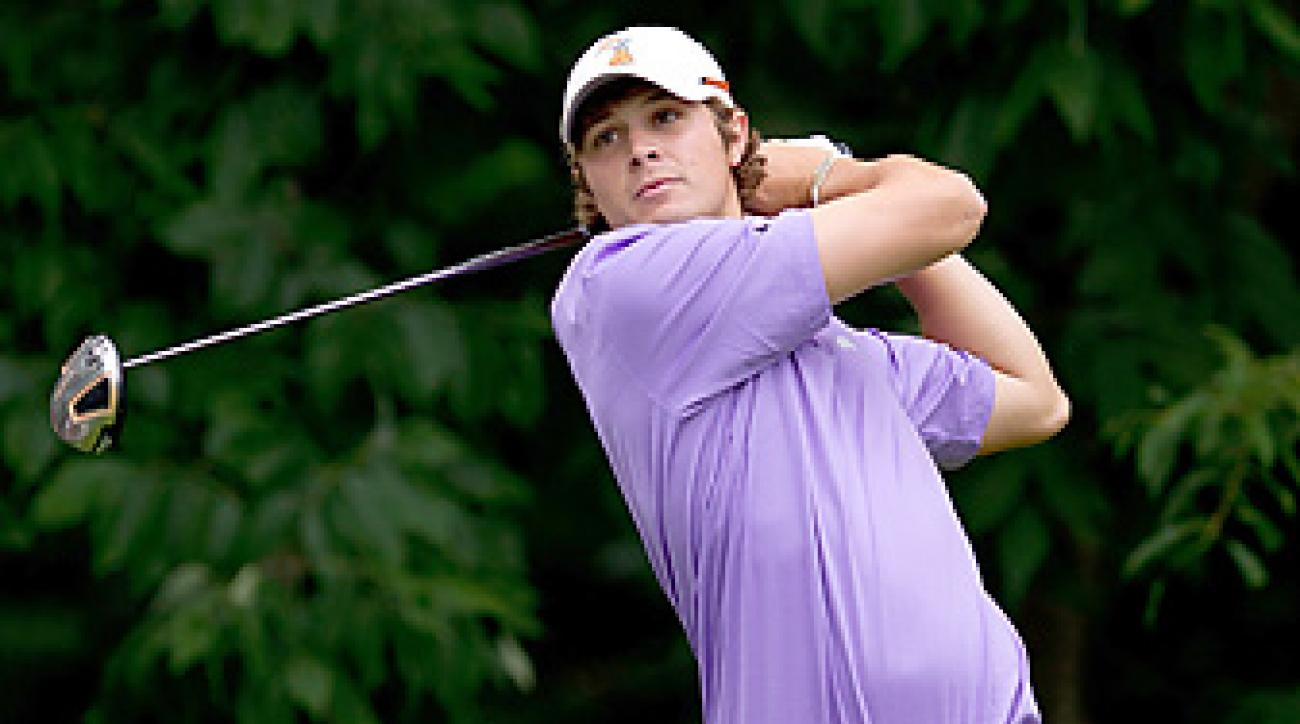 Peter Uihlein will make his professional debut next month in Abu Dhabi.