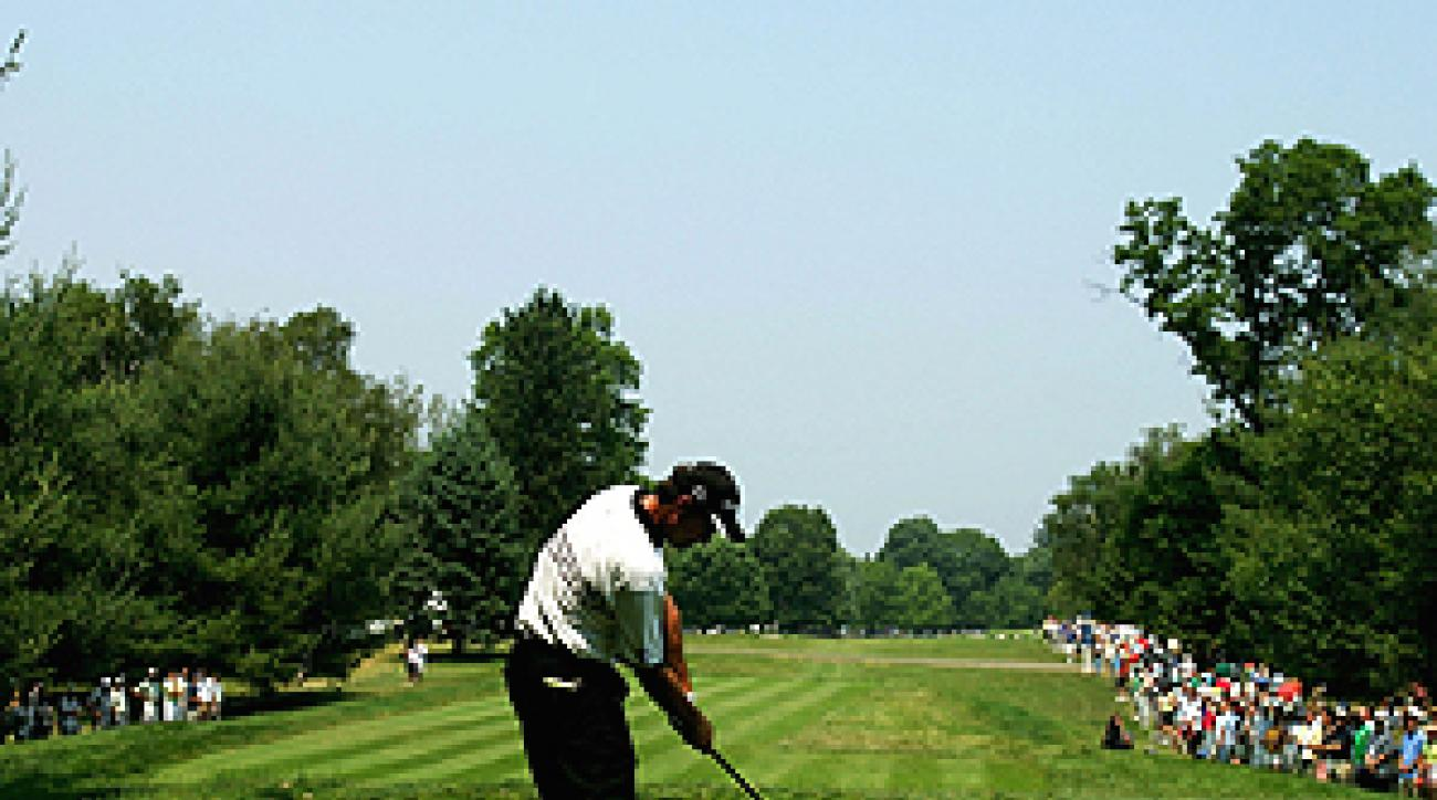 "With tight tree-lined fairways and tricky greens, Westchester Coutnry Club is a great place for pros to prepare for a U.S. Open. <span class=""picturesource"">Getty Images</span>"