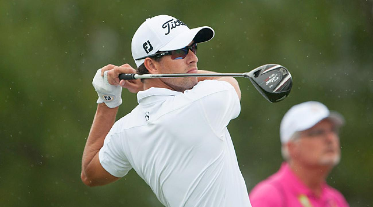 Masters champ Adam Scott ended up on top at Grand Slam in Bermuda.