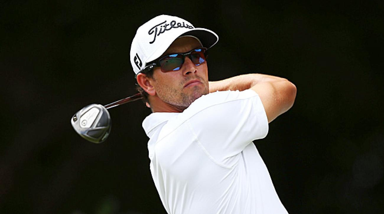 Adam Scott won four tournaments in 2013, including the Masters.