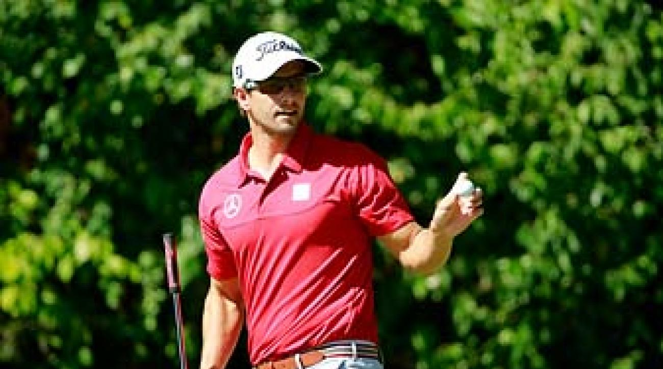 2013 has been a breakout year for Adam Scott, he won the Masters, the Barclays and then set the course record at Shinnecock Hills in a casual round.