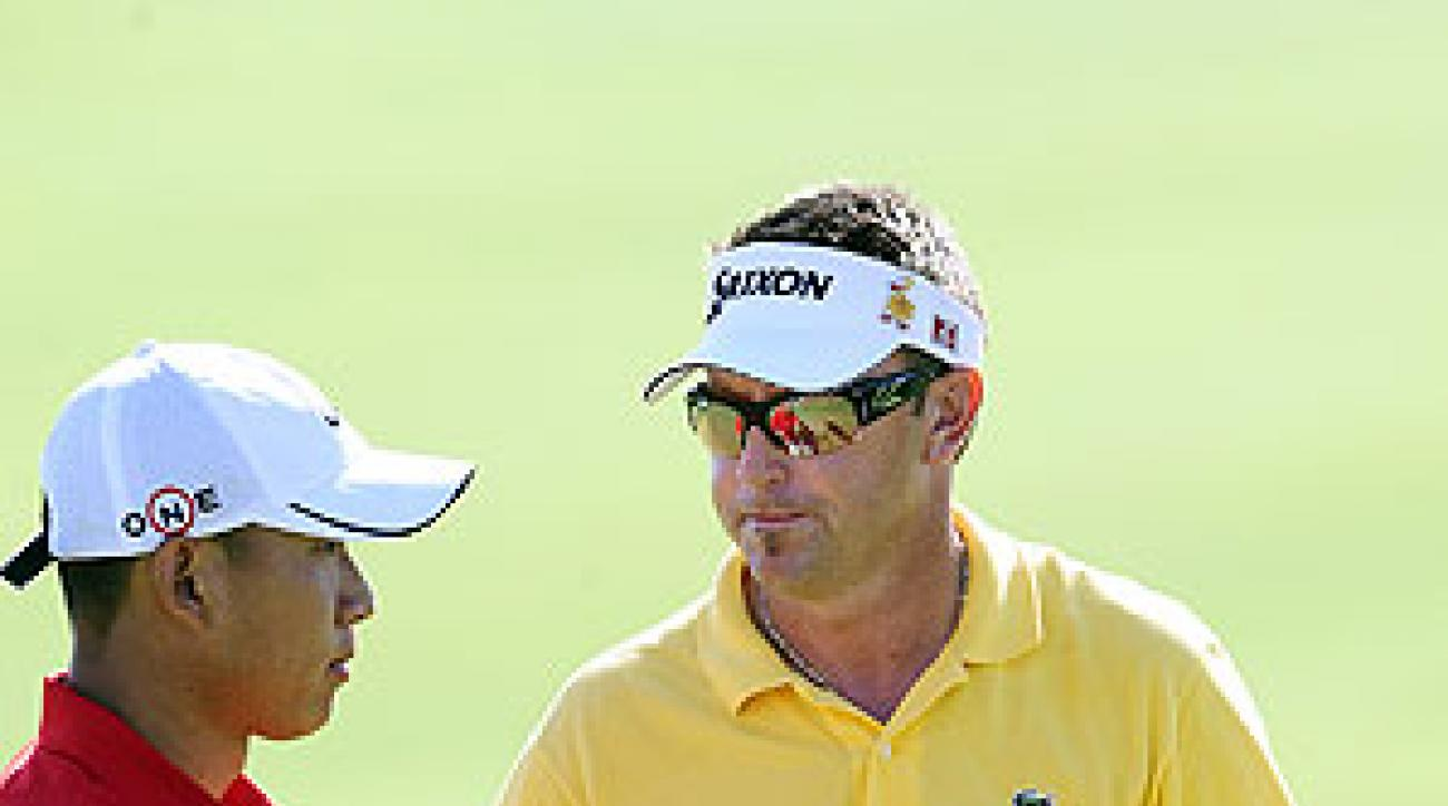 Anthony Kim defeated Robert Allenby at the World Match Play Championship.