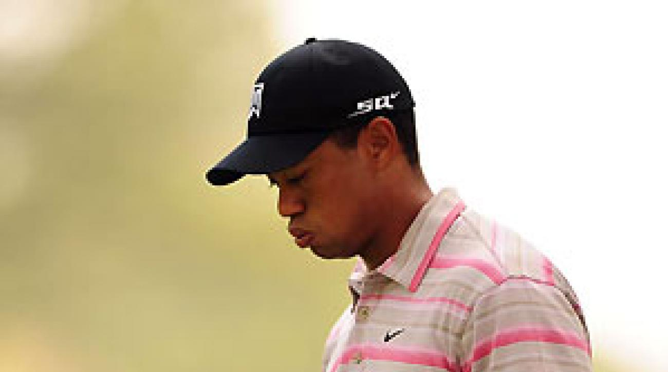 Tiger Woods finished second at the Masters.