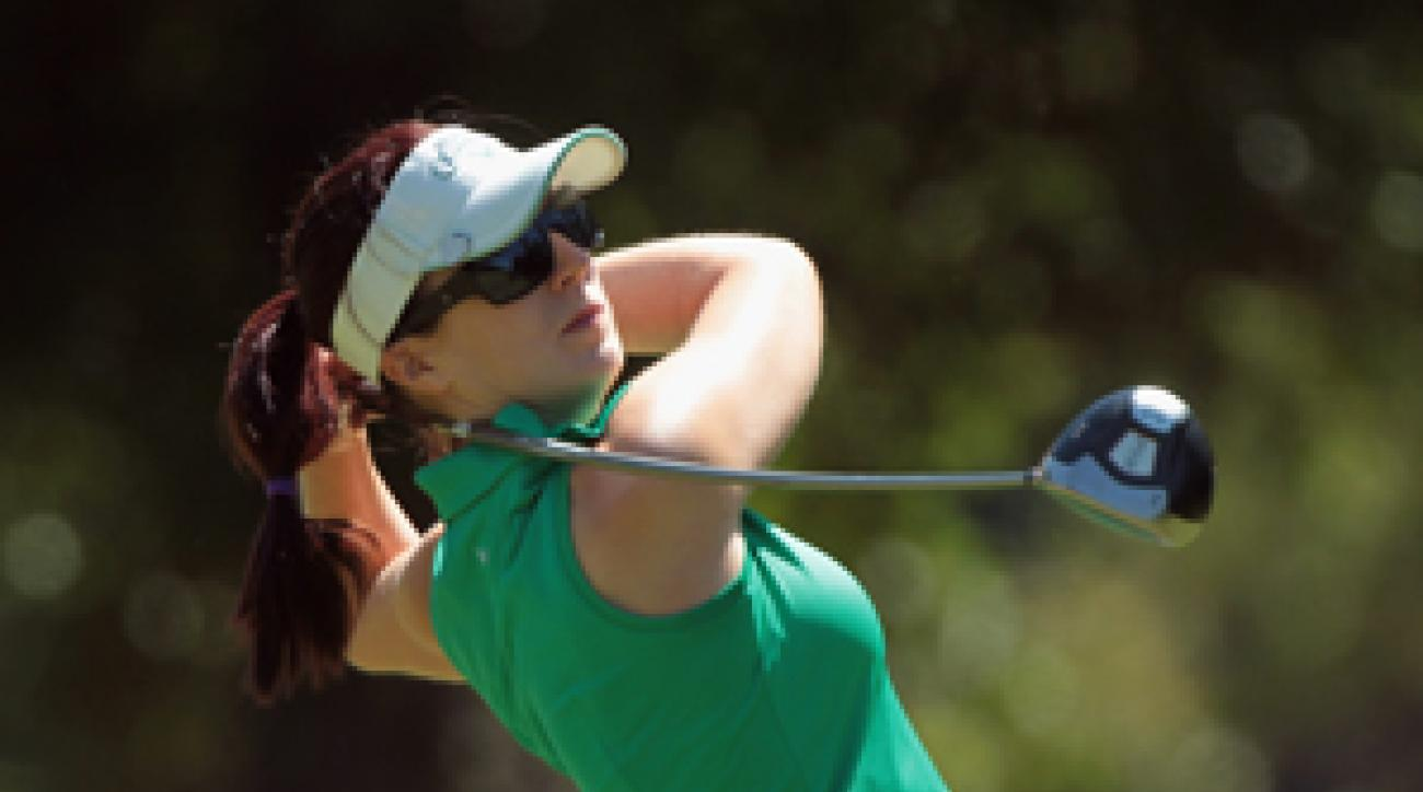 Sandra Gal birdied five of the last eight holes.