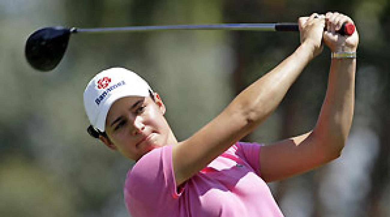 Lorena Ochoa made three birdies and two bogeys.
