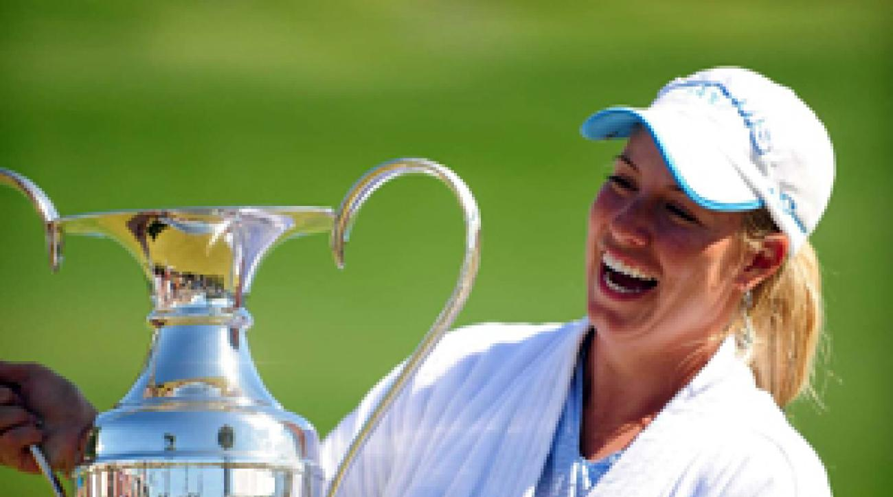 Brittany Lincicome won her first major championship on Sunday.