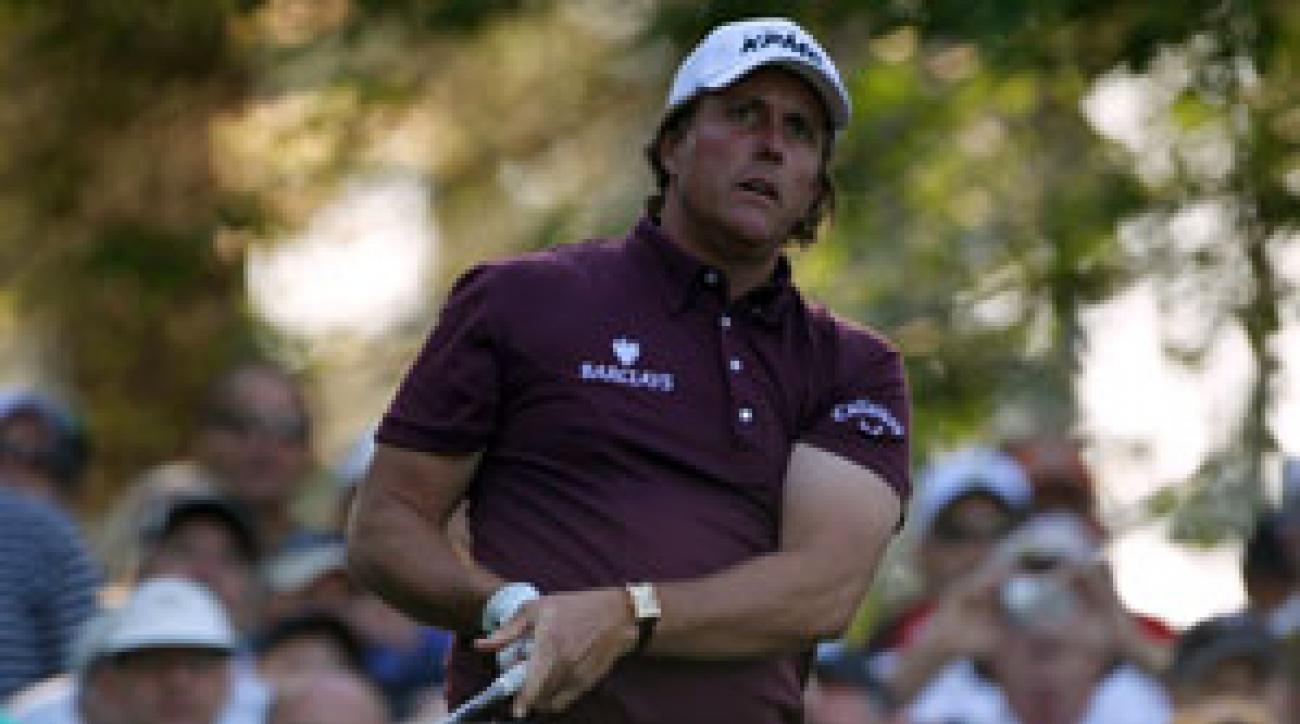 Phil Mickelson has eight career top-5 finishes at the Masters.