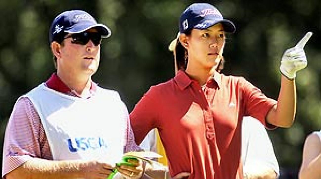 Gilchrist worked as Wie's coach and caddie at the '03 U.S. Women's Open.