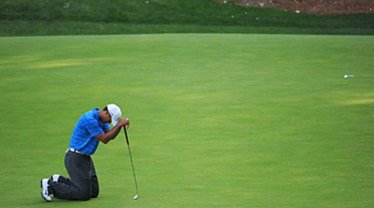 Tiger Woods finished tied for fourth at the Masters.