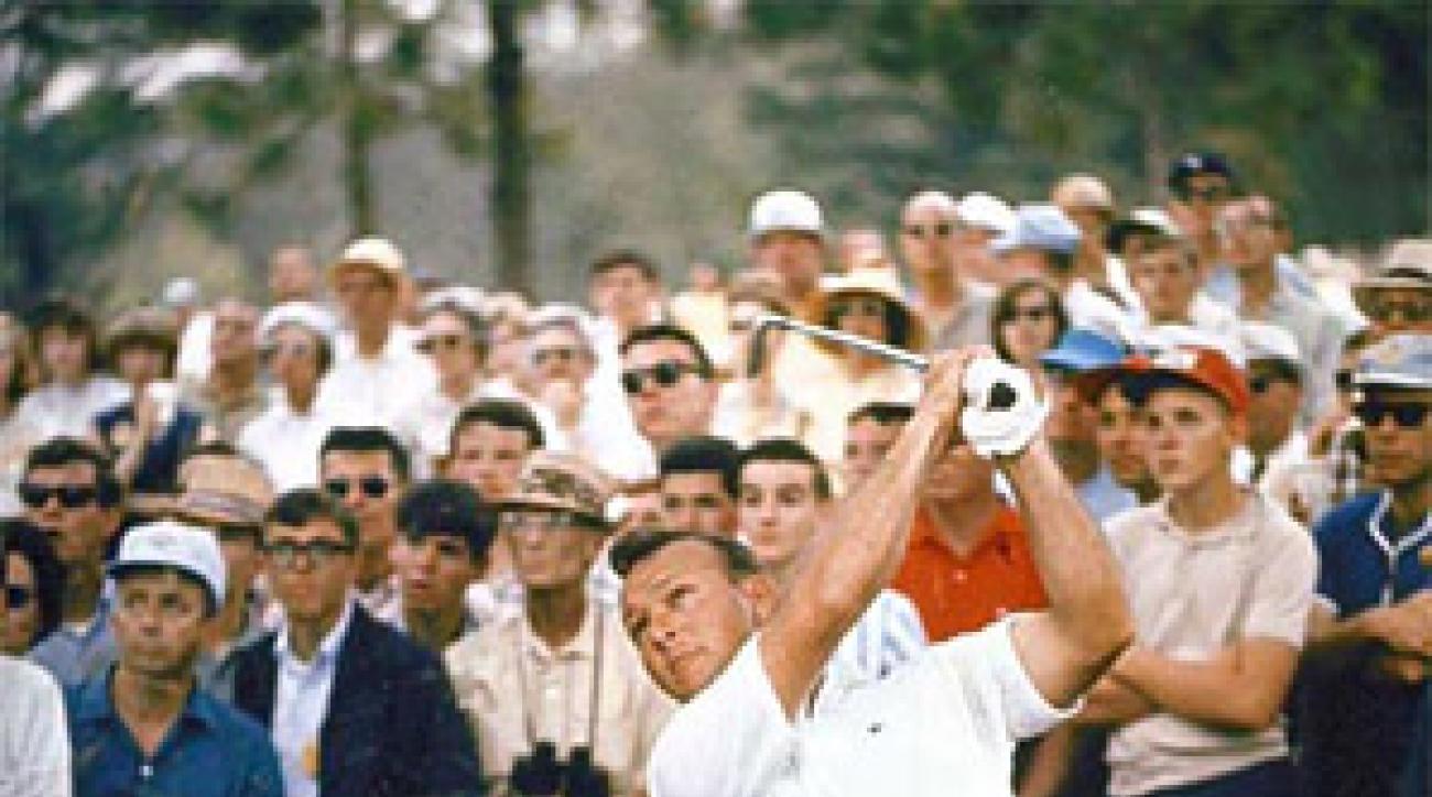 Palmer at the 1965 Masters.