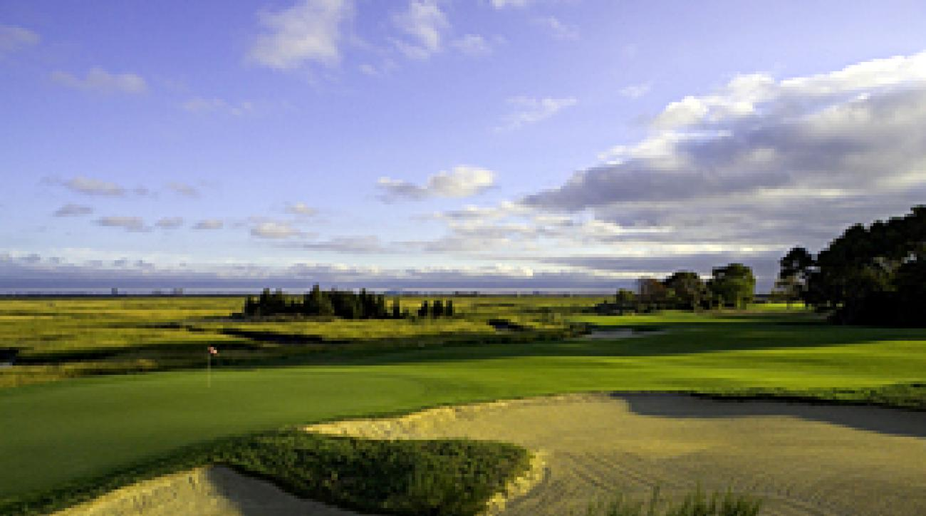 The once-private Atlantic City Country Club (No. 14, pictured) opened its doors to the public in 2005.