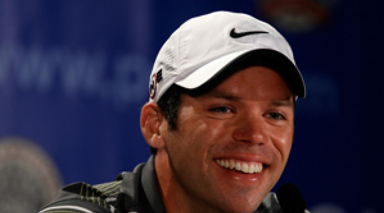 Paul Casey tied for third at the British Open.
