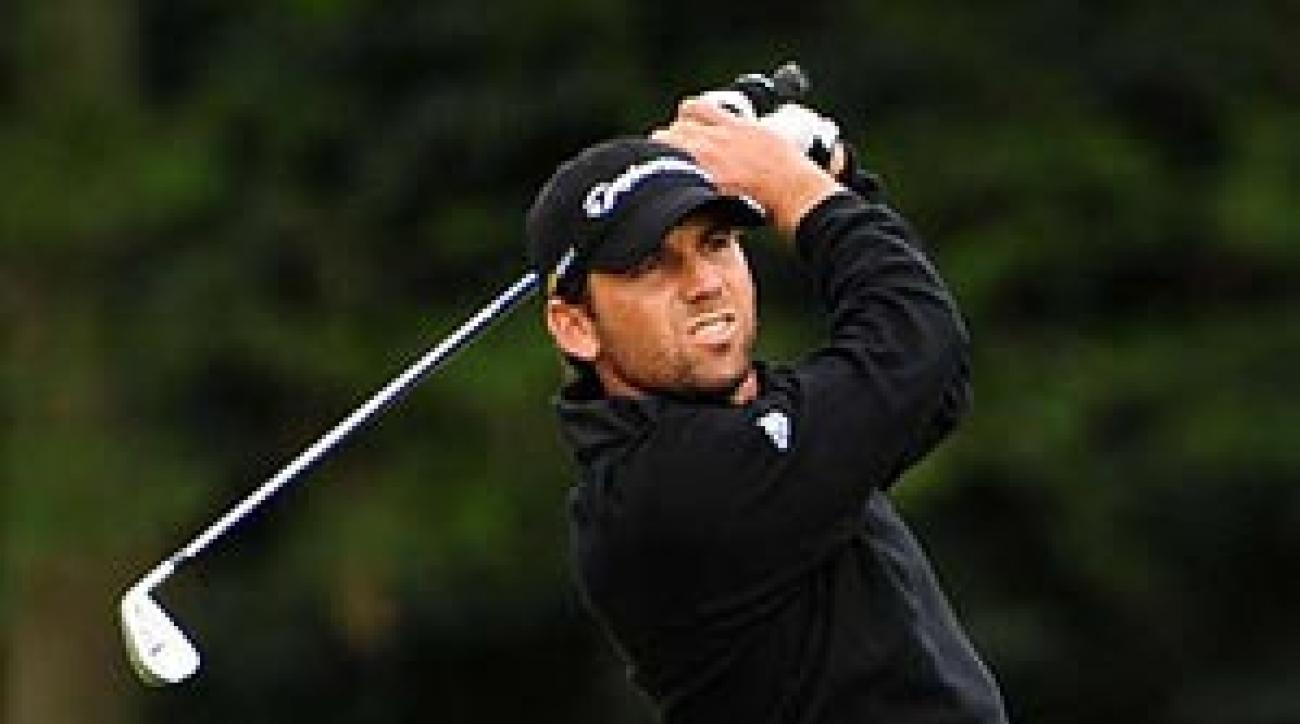 Garcia's finished moved him to No. 3 in the European standings for the Ryder Cup.