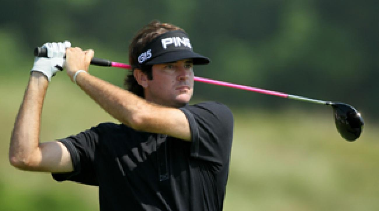 Bubba Watson was unsure who designed Whistling Straits.