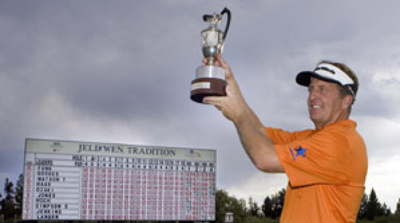 Fred Funk won by three strokes over Mike Goodes.