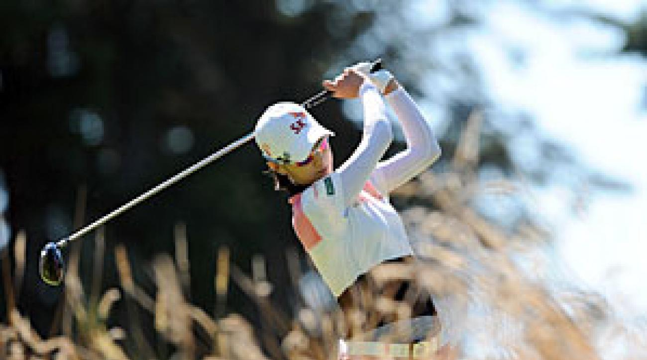 Na Yeon Choi made three birdies and one bogey on Saturday.