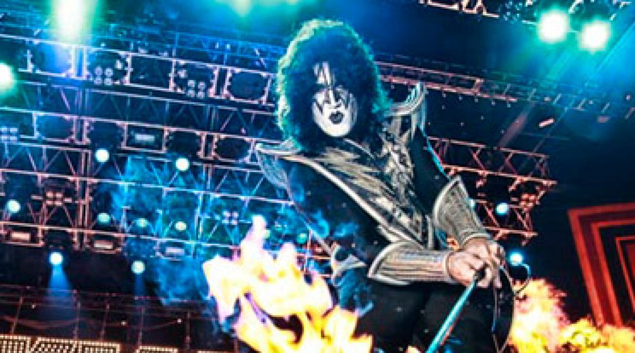"""Tommy Thayer, 50, lead guitarist for Kiss, hosts the annual Pacific University Legends Golf Classic (<!--  --><a target=""""_blank"""" class=""""1000"""" href=""""http://www.pacific.edu/legendsgolf"""">pacific.edu/legendsgolf</a><!-- / -->)."""