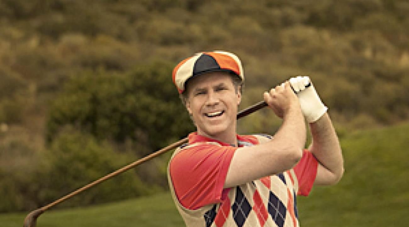 Will Ferrell at Trump National Golf Club in Los Angeles.