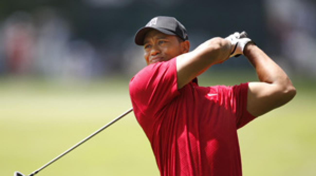 Tiger Woods won his fourth title of the season on Sunday.