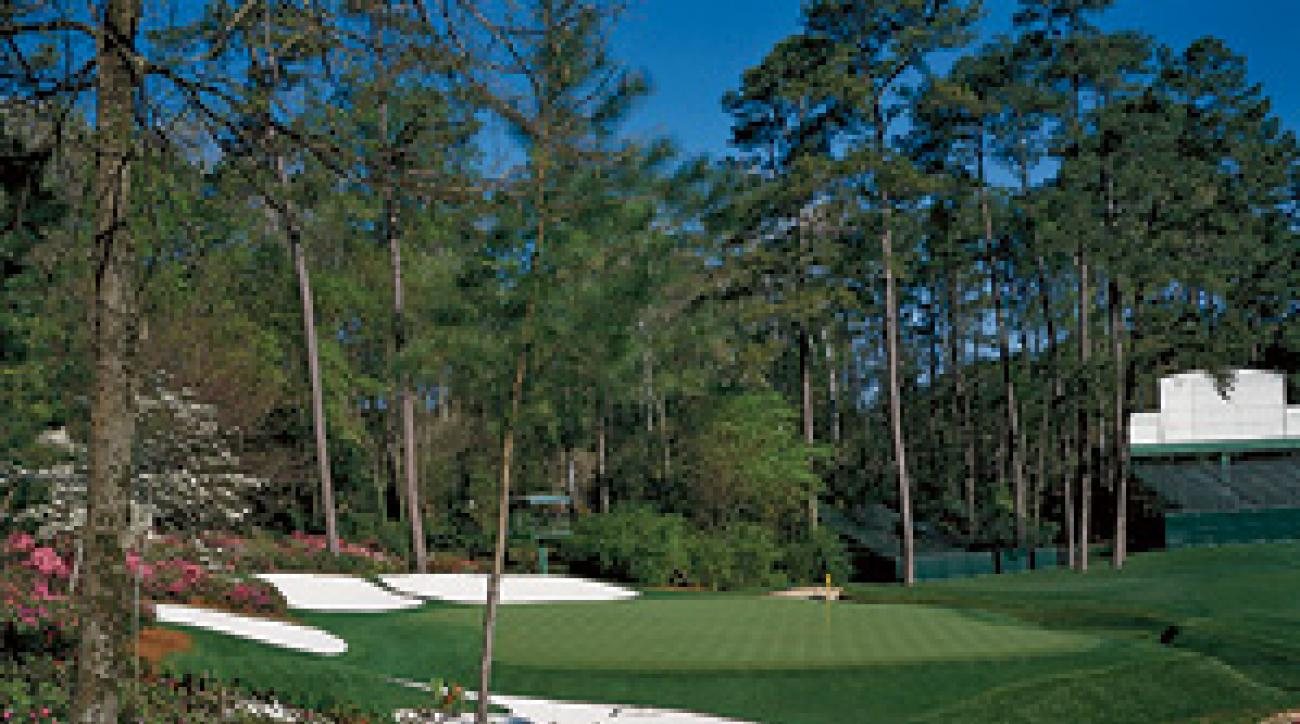 The 13th at Augusta National