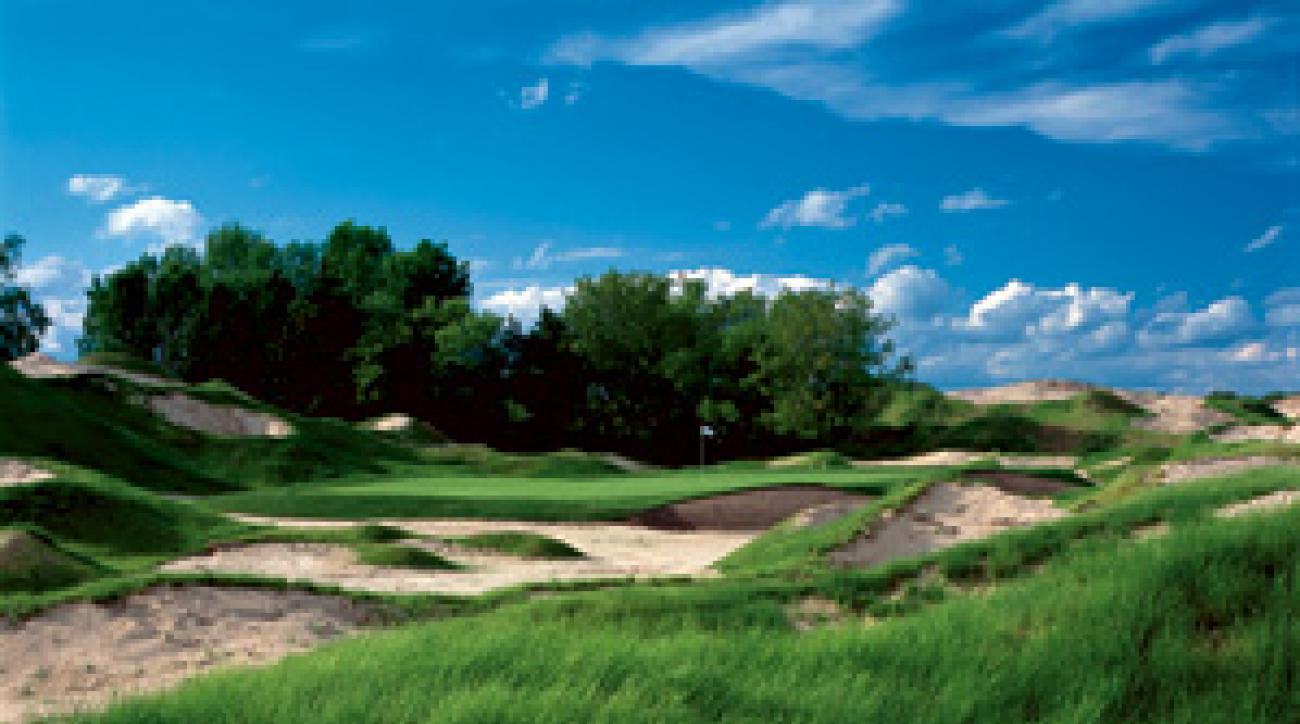 The Irish Course at Whistling Straits.