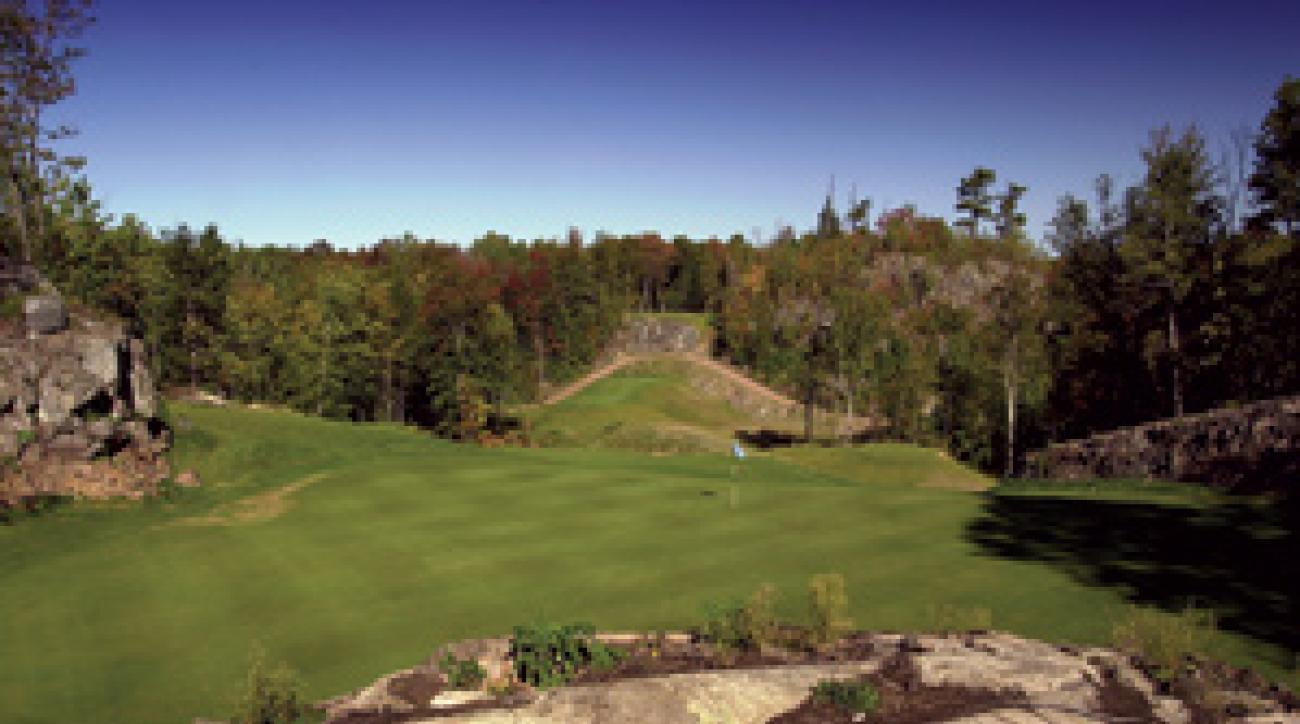The Greywalls Course in Marquette.