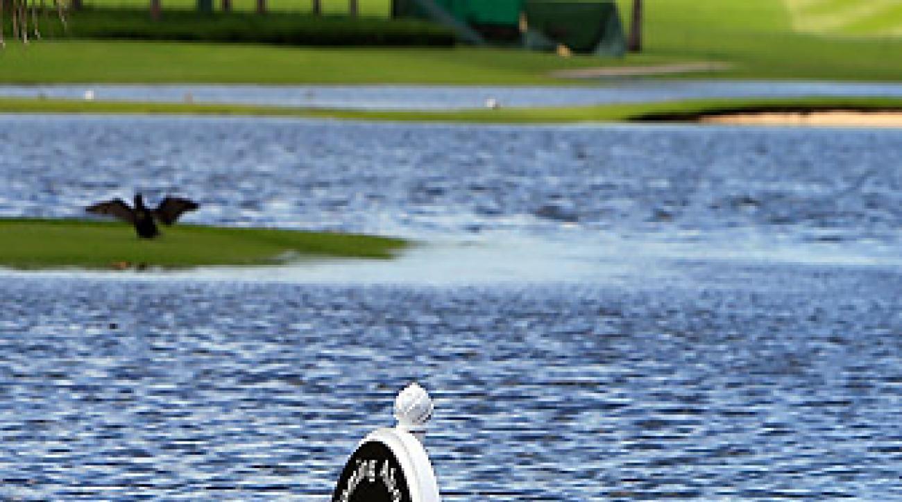 The inaugural Bahamas LPGA Classic was plagued by rain.