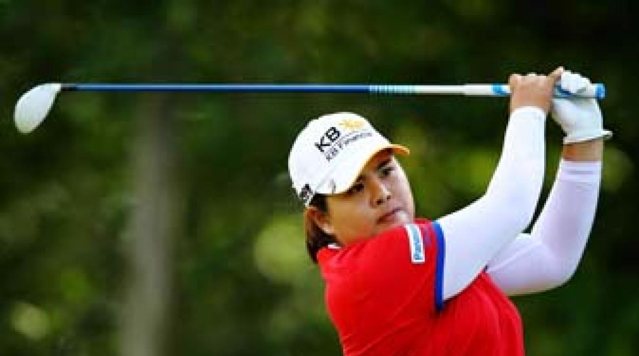 Inbee Park at Long Island's Sebonack, host of the 2013 U.S. Women's Open. Park has won three majors so far this year on three distinct golf courses.