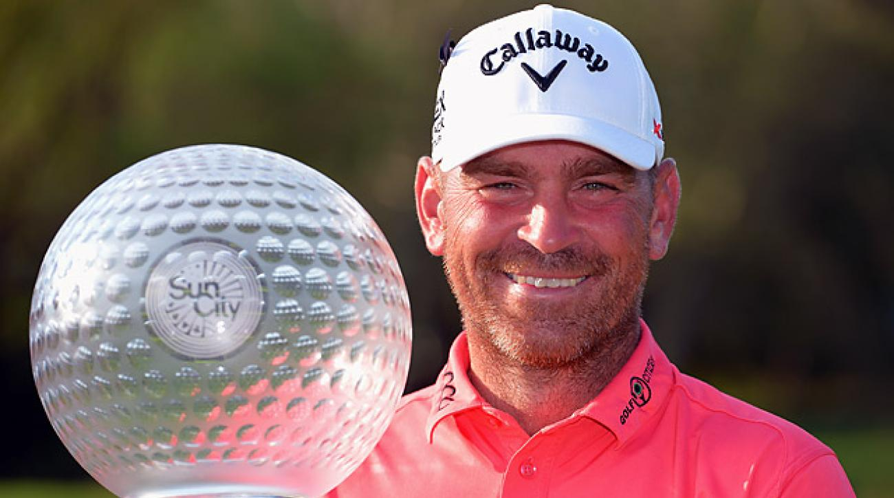 Thomas Bjorn has made only one bogey so far this week.