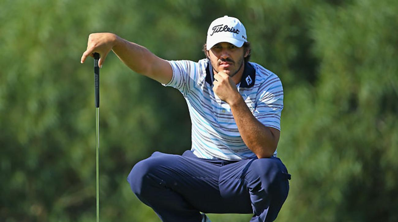Brooks Koepka during the final round of the 2014 Turkish Airlines Open Sunday in Antalya, Turkey.