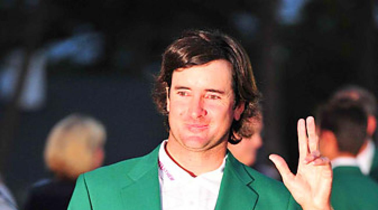 Bubba Watson defeated Louis Oosthuizen on the second playoff hole at Augusta to win his first major championship.