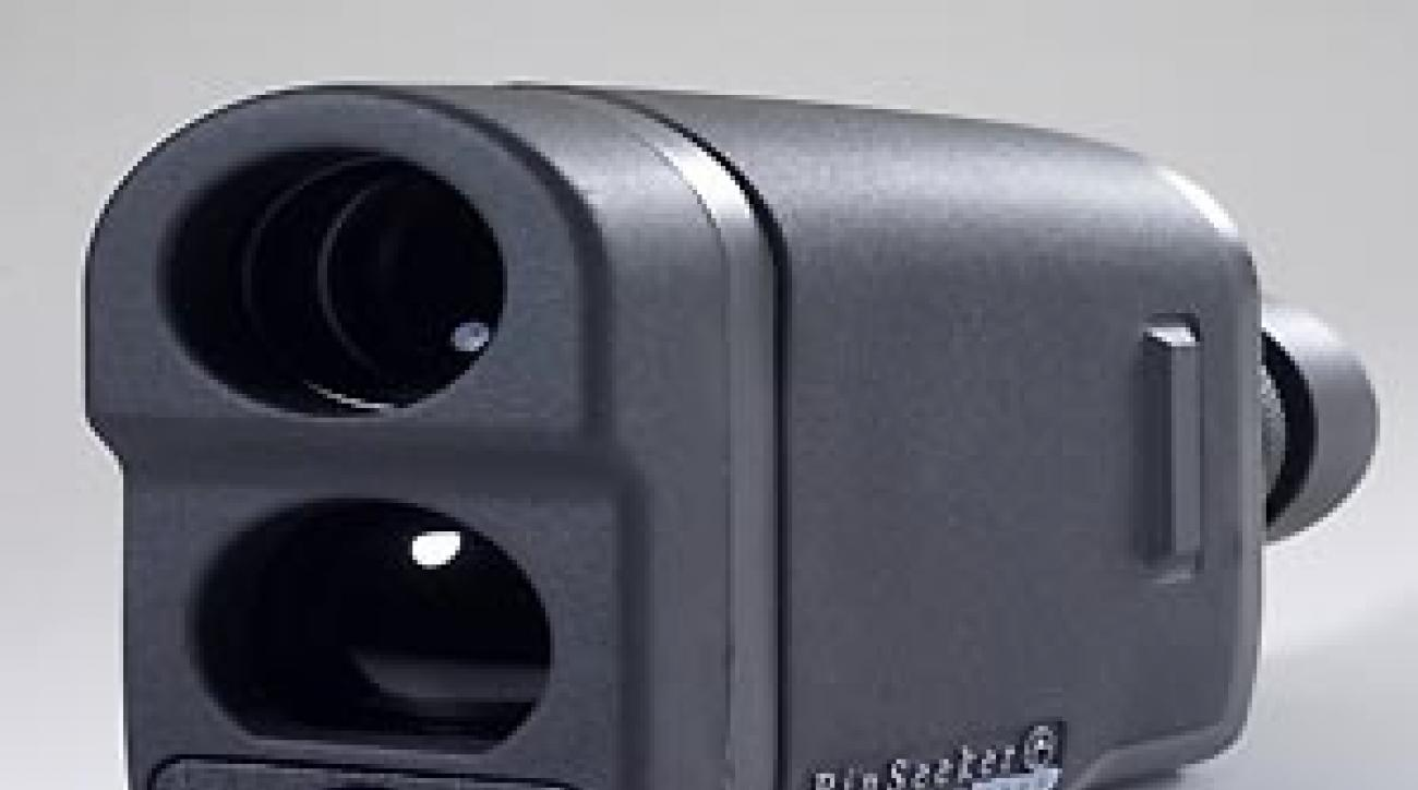 """Bushnell's new PinSeeker. <span class=""""picturesource"""">Greg Lord</span>"""