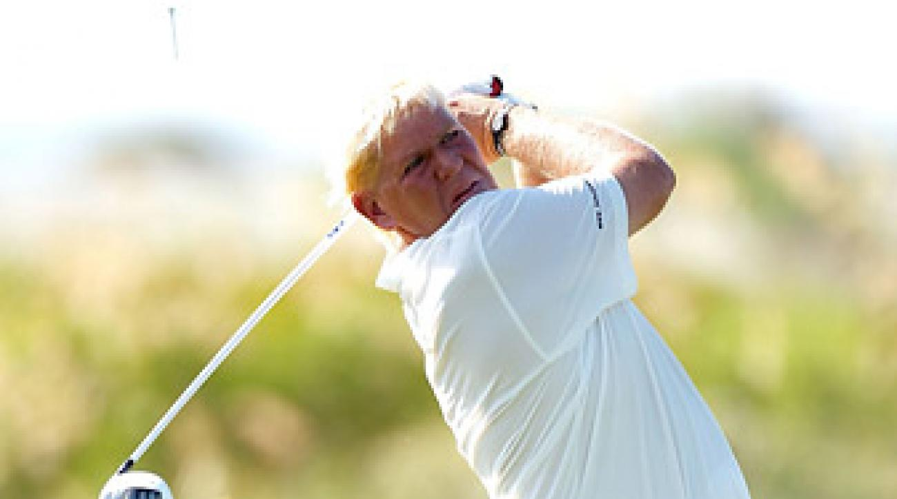 Daly fired a first-round 68 Thursday at Kiawah Island.