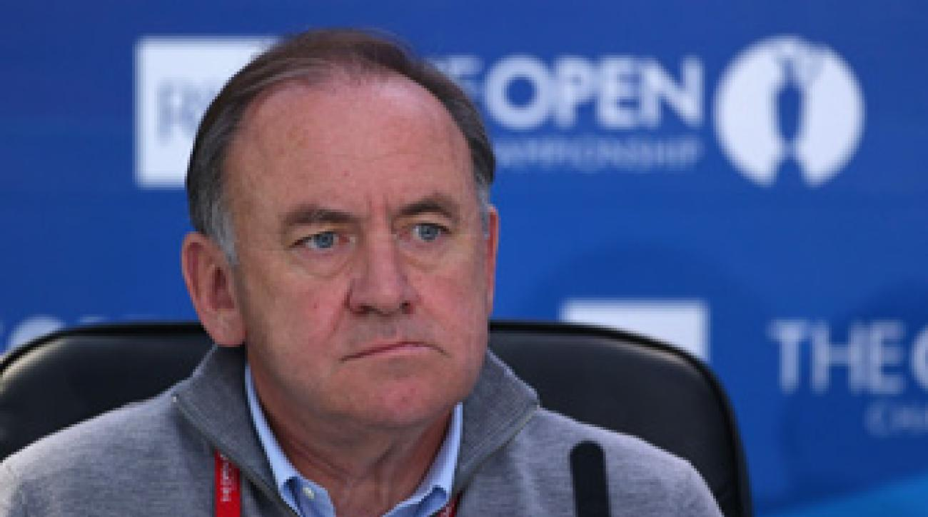 """Peter Dawson says the R&A won't """"bully"""" clubs into admitting female members."""