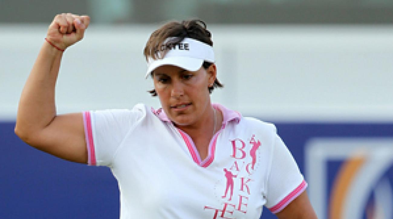 Iben Tinning plans to retire after winning the Dubai Ladies Masters.