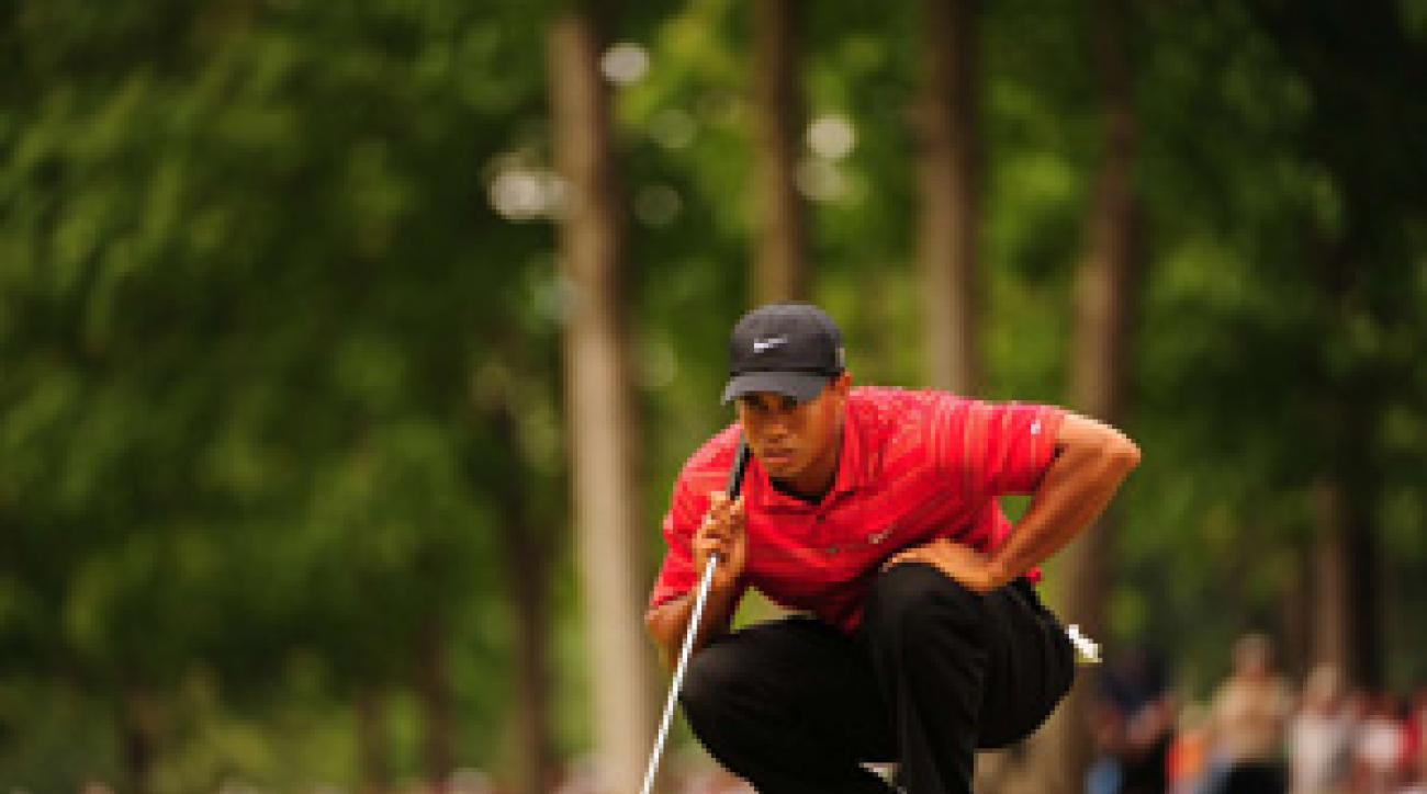 Tiger Woods said he needed a break from golf to focus on his family.