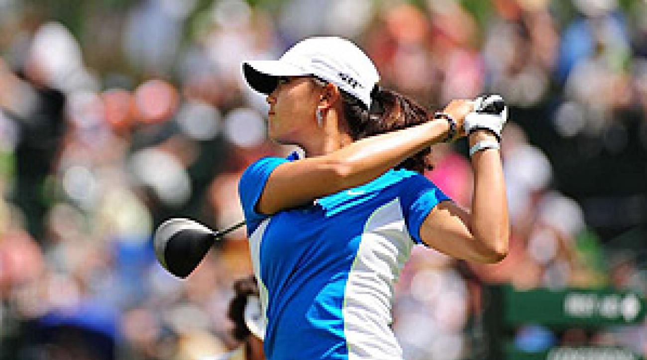 Ninety-one percent of those surveyed think Michelle Wie made the wrong decision by turning pro at age 15.