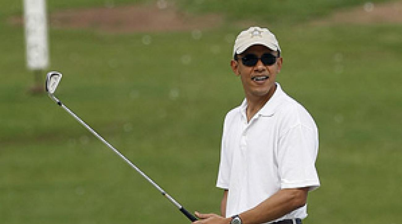 President Obama has reportedly played more than 60 rounds of golf since taking office.