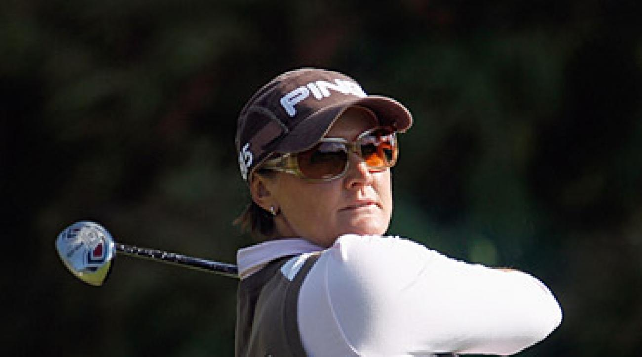 The LPGA Tour Championship is Hjorth's first victory of the season.