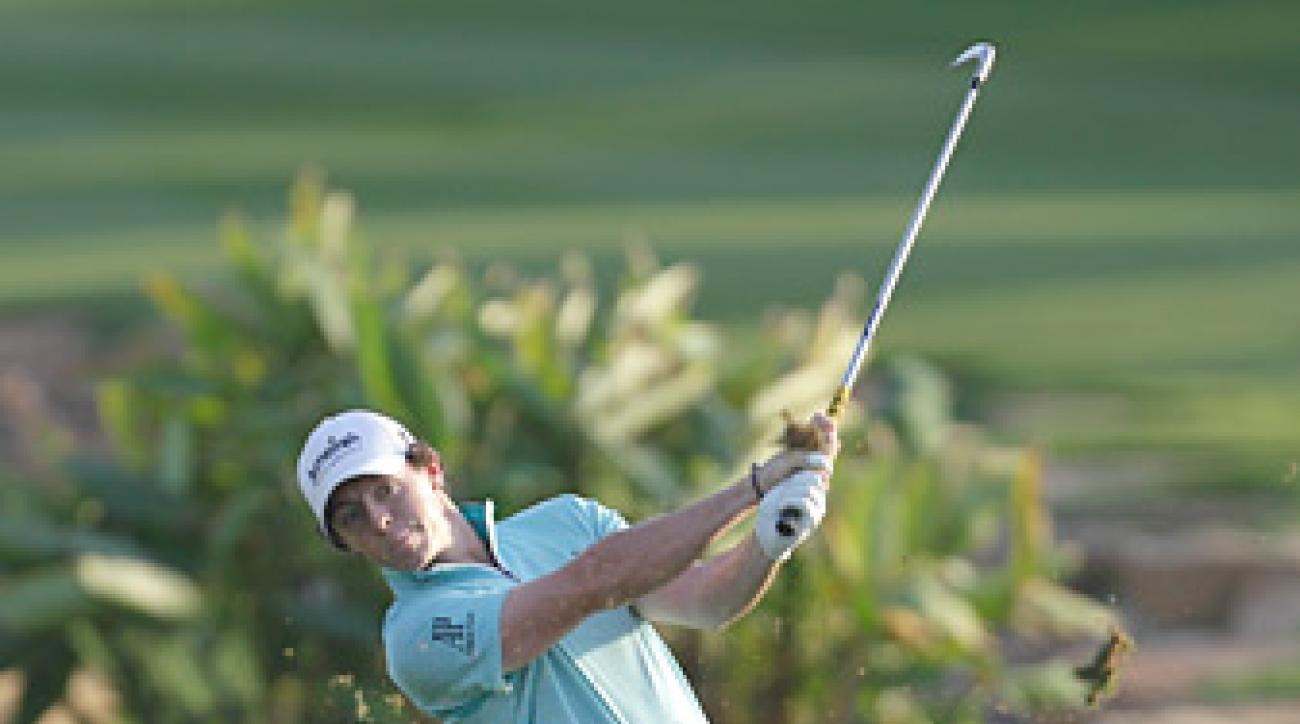 Rory McIlroy opened the tournament with a six-under 66.