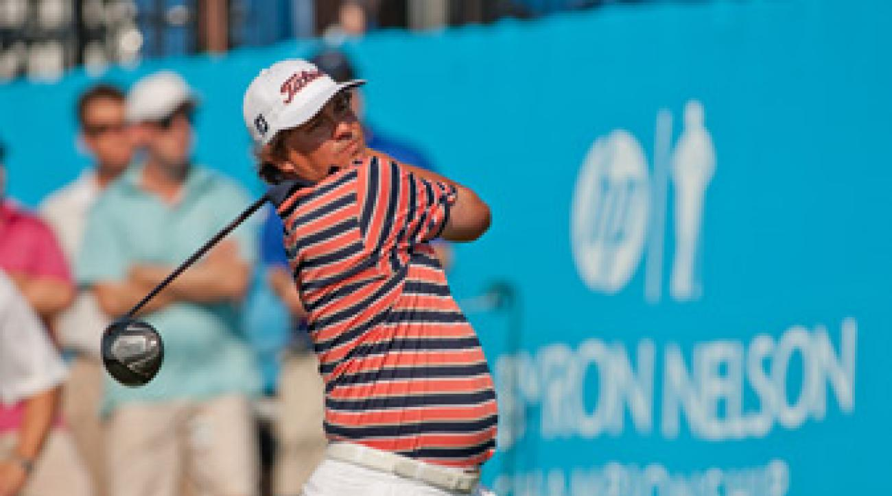 Jason Dufner made seven birdies and three bogeys.
