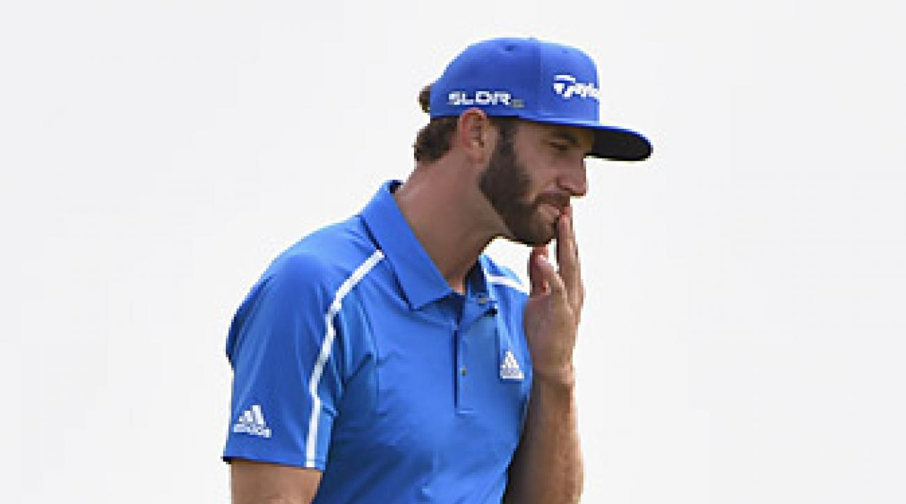 Dustin Johnson played well at the British Open, finishing T12.