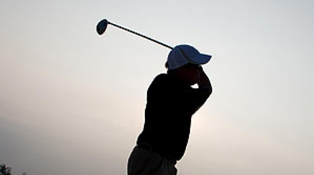 He's an avid enough golfer to fly nearly 9,000 miles to play golf in a place to which he thought he'd never return.