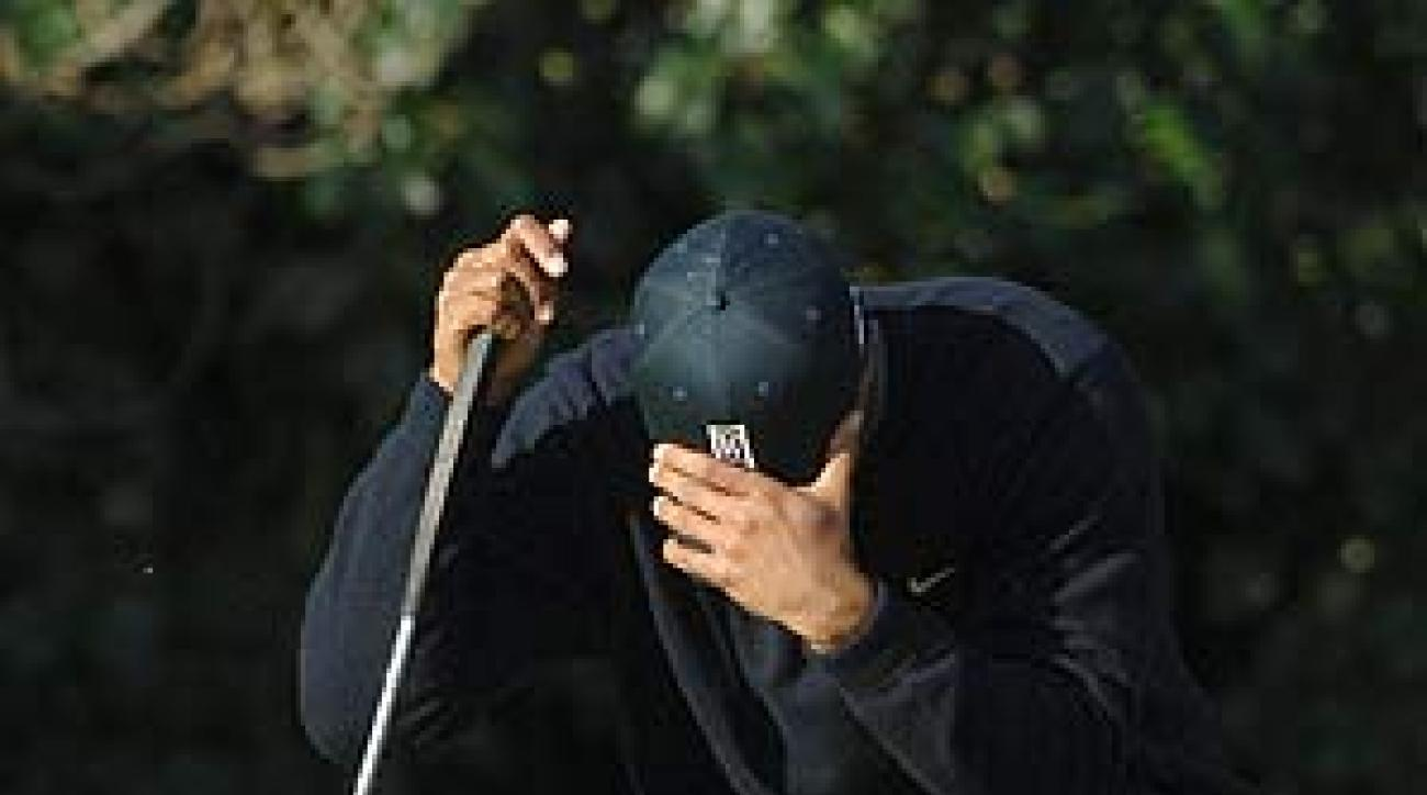Woods withdrew in 2006 after shooting 69-74.