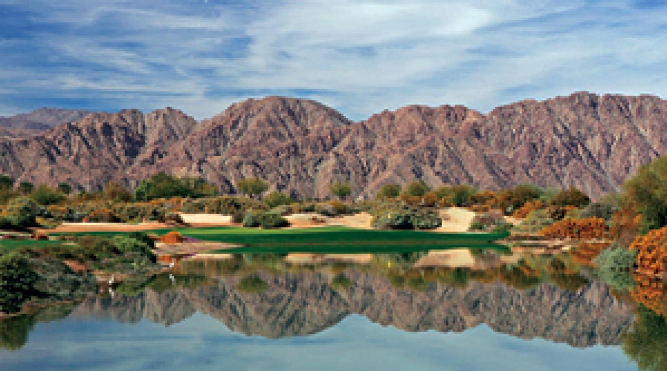 No matter how you look at it, desert golf at La Quinta is a blast.