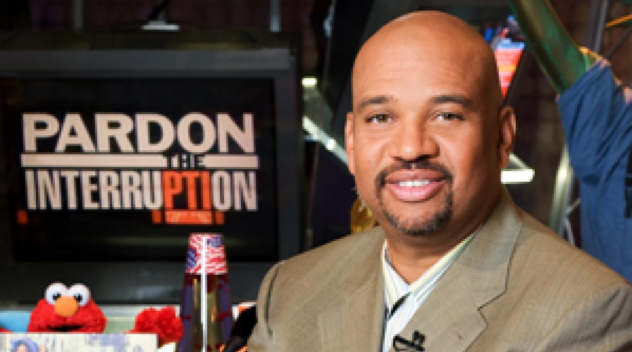 Shooting from the lip: ESPN pundit Mike Wilbon.